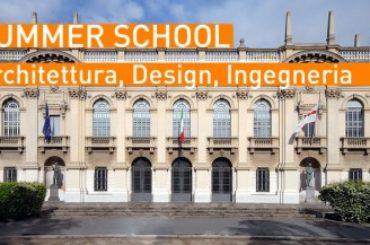 Summer School del Politecnico di Milano: lezioni di Architettura, Design e Ingegneria