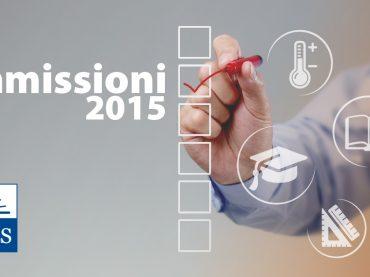 Speciale Date e Bandi Ammissioni 2015