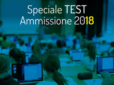 Speciale test di ammissione 2018