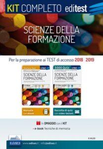 Kit completo Scienze della Formazione 2018