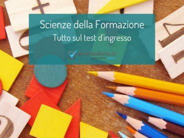 Scienze della Formazione Primaria: info e risorse sul test d'ingresso