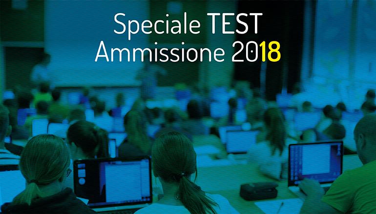 test ammissione 2018