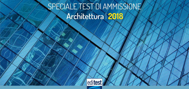 soluzioni test architettura 2018