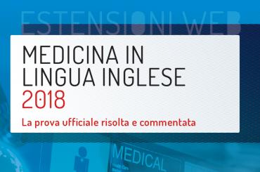 Test Medicina in Inglese: scarica la prova ufficiale del 2018