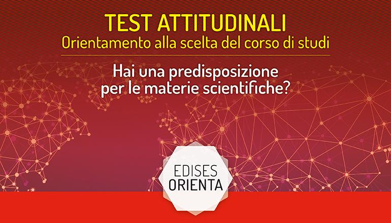 test attitudinale università scientifiche