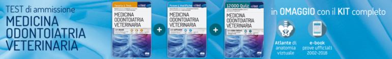 test di ammissione medicina 2019