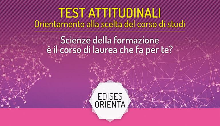 test attitudinale scienze della formazione