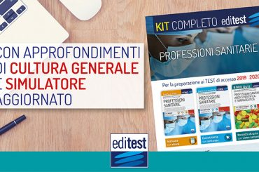 Test Professioni Sanitarie 2019: preparati con il Kit EdiTEST