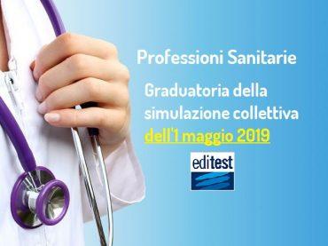 Graduatoria della quarta simulazione collettiva del test Professioni Sanitarie 2019