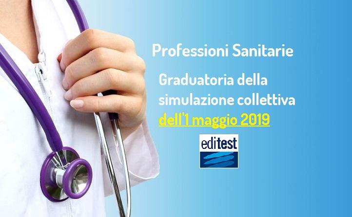 Quarta graduatoria simulazione test Professioni Sanitarie