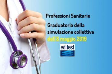 Quinta graduatoria simulazioni collettive test Professioni Sanitarie 2019