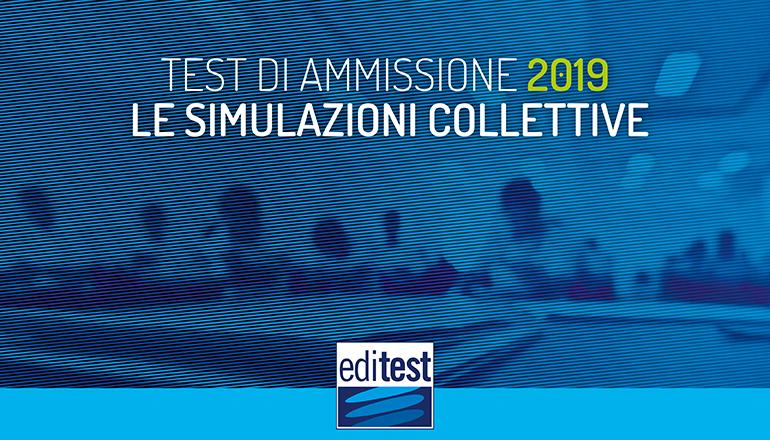 simulazioni test ammissione università 2019