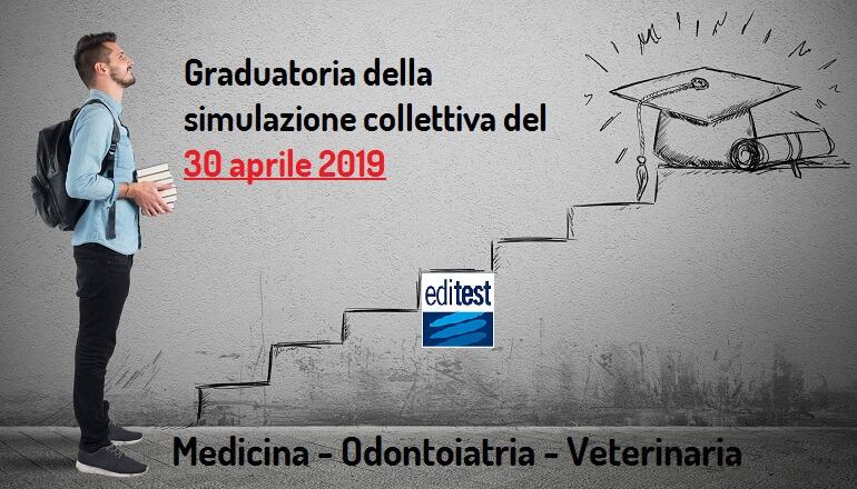 terza graduatoria simulazione test medicina 2019