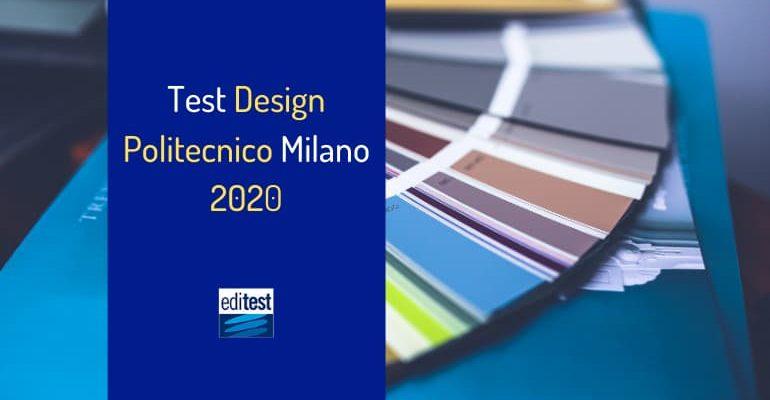 Test Design Politecnico Milano 2020: come prepararsi