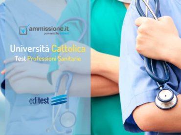 Test Professioni Sanitarie Cattolica 2020: il decreto ufficiale