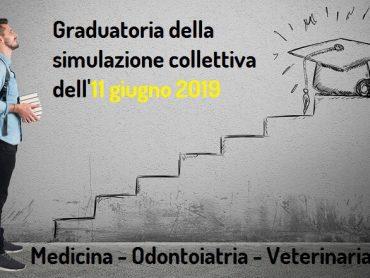 Graduatoria della nona simulazione collettiva del test di Medicina 2019