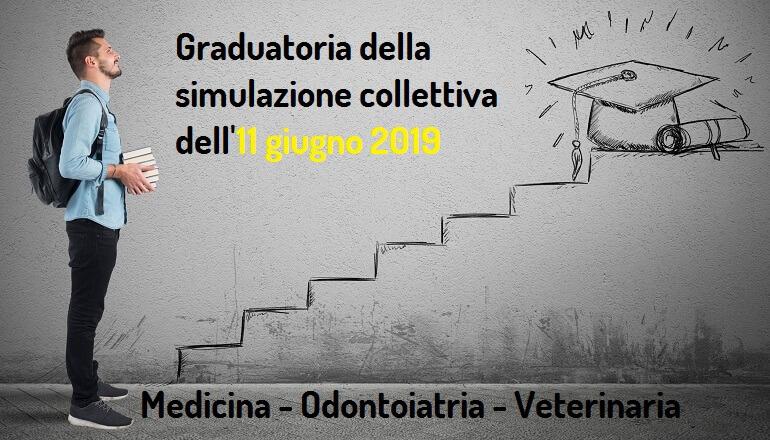 nona graduatoria simulazione test medicina 2019