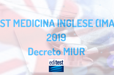 Test Medicina Inglese IMAT: pubblicato il decreto ufficiale