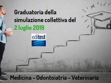 Graduatoria della dodicesima simulazione collettiva del test di Medicina