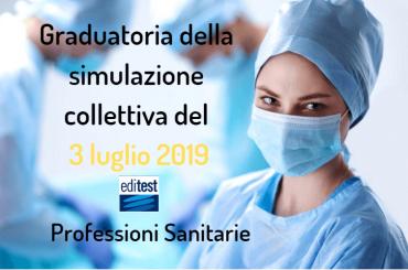 Graduatoria della tredicesima simulazione collettiva del test Professioni Sanitarie 2019