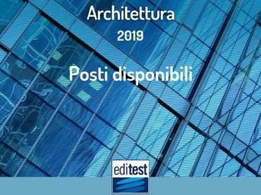 Corsi di laurea in Architettura: posti disponibili per il 2019/2020