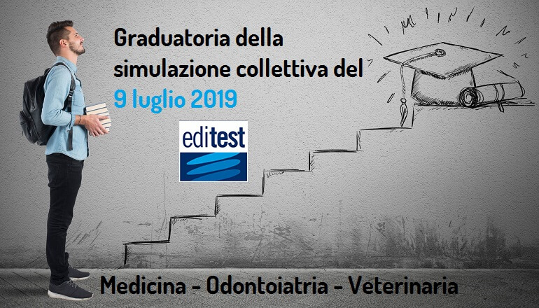 tredicesima graduatoria simulazione test medicina 2019