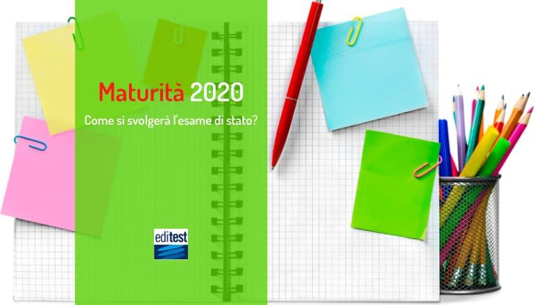 esame di maturità 2020