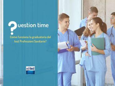 Test Professioni Sanitarie: come funziona la graduatoria?