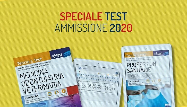 test ammissione 2020