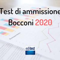 Tutto quello che c'è da sapere sul test di ammissione Bocconi 2020