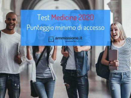 Punteggio minimo Medicina 2020: centrata la nostra previsione iniziale!