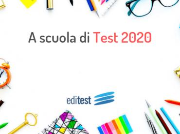 A scuola di test 2020: si riparte!