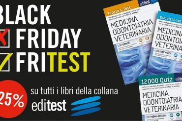 """Black FriTEST"": sconto del 25% sui libri del catalogo EdiTEST"