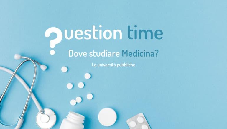 dove studiare medicina università pubbliche