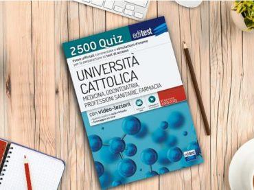 Test Medicina Cattolica 2020: esercitati con i 2.500 quiz EdiTEST