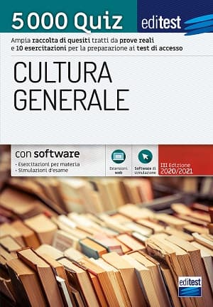 5.000 quiz cultura generale test ammissione