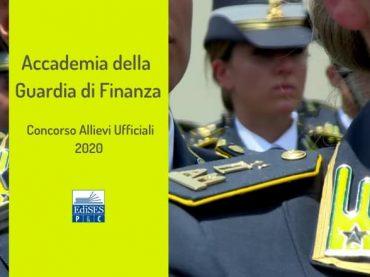 Concorso Allievi Ufficiali Accademia Guardia Finanza 2020