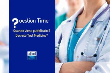 Test Medicina: quando viene pubblicato il decreto MIUR?