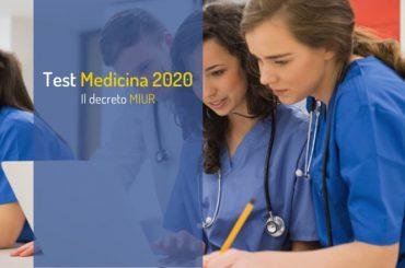 Test Medicina 2020: pubblicato il decreto ufficiale