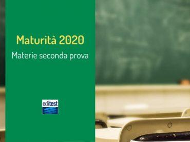 Materie Seconda Prova Maturità 2020