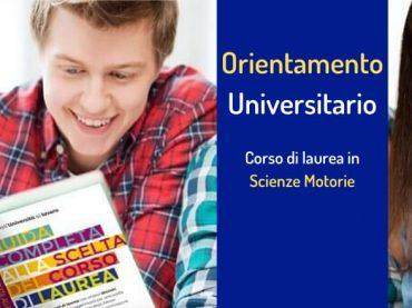 Orientamento alla scelta dell'Università: il corso di laurea in Scienze Motorie