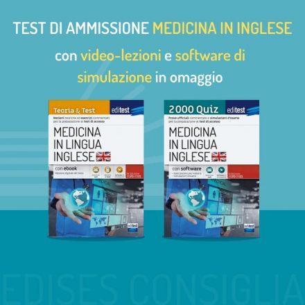 test medicina inglese