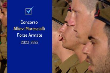 Concorso 439 Allievi Marescialli Forze Armate: riaperti i termini per le domande
