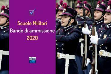 Concorso Scuole Militari 2020: pubblicato il bando per 297 studenti