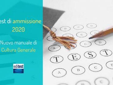 Domande Cultura Generale 2020: disponibile il nuovo manuale EdiTEST