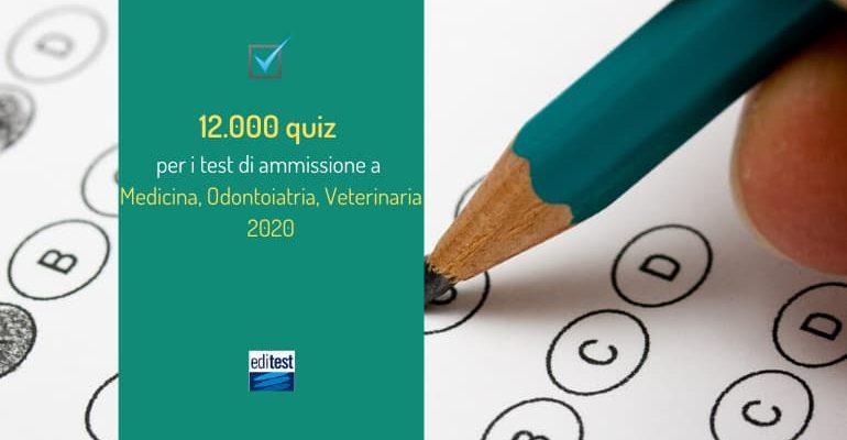 Test Medicina 2020: esercitati con il libro dei 12.000 quiz