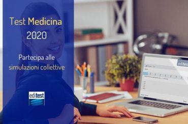 Test Medicina 2020: scopri le nuove simulazioni collettive EdiTEST