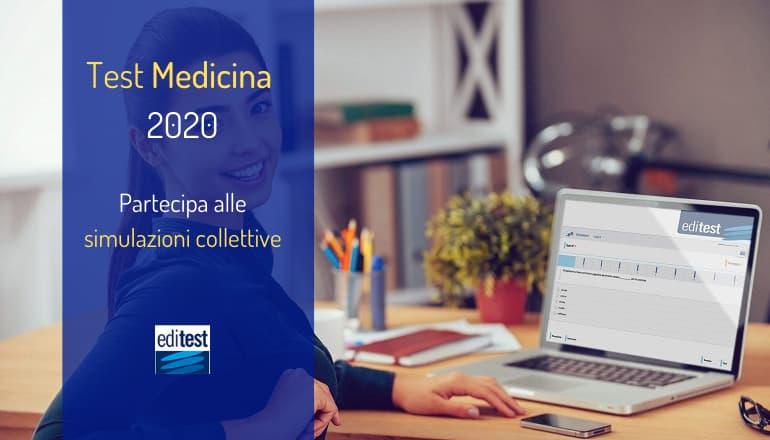 simulazioni collettive test ammissione medicina 2020