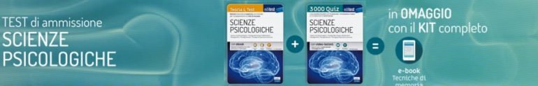 test scienze psicologiche