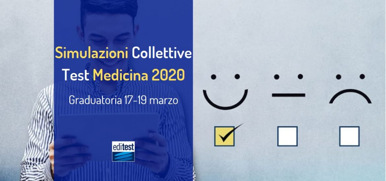 graduatoria seconda simulazione collettiva test medicina 2020
